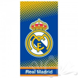 TOALLA REAL MADRID MICROFIBRA.